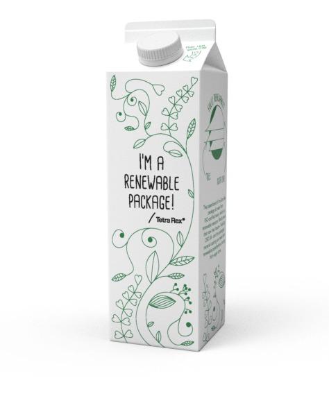 Tetra Rex® carton package with TwistCap OSO34