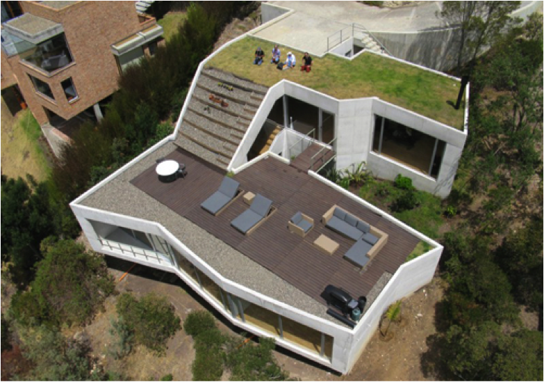 Construcci n ecol gica en colombia casa v alternativa de - Proyectos para construir una casa ...