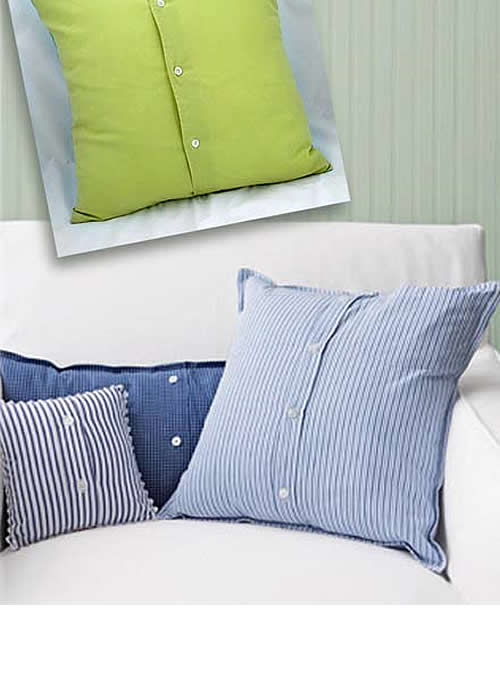como hacer fundas para almohadas imagui
