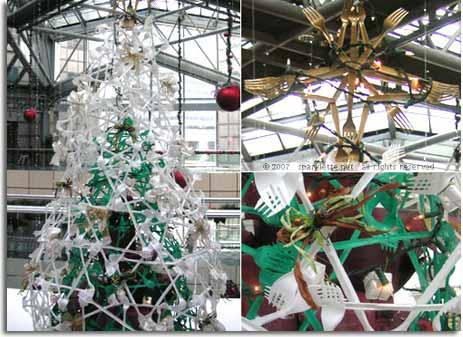 Navidad verde rboles de navidad hechos de materiales - Arboles de navidad de diferentes materiales ...