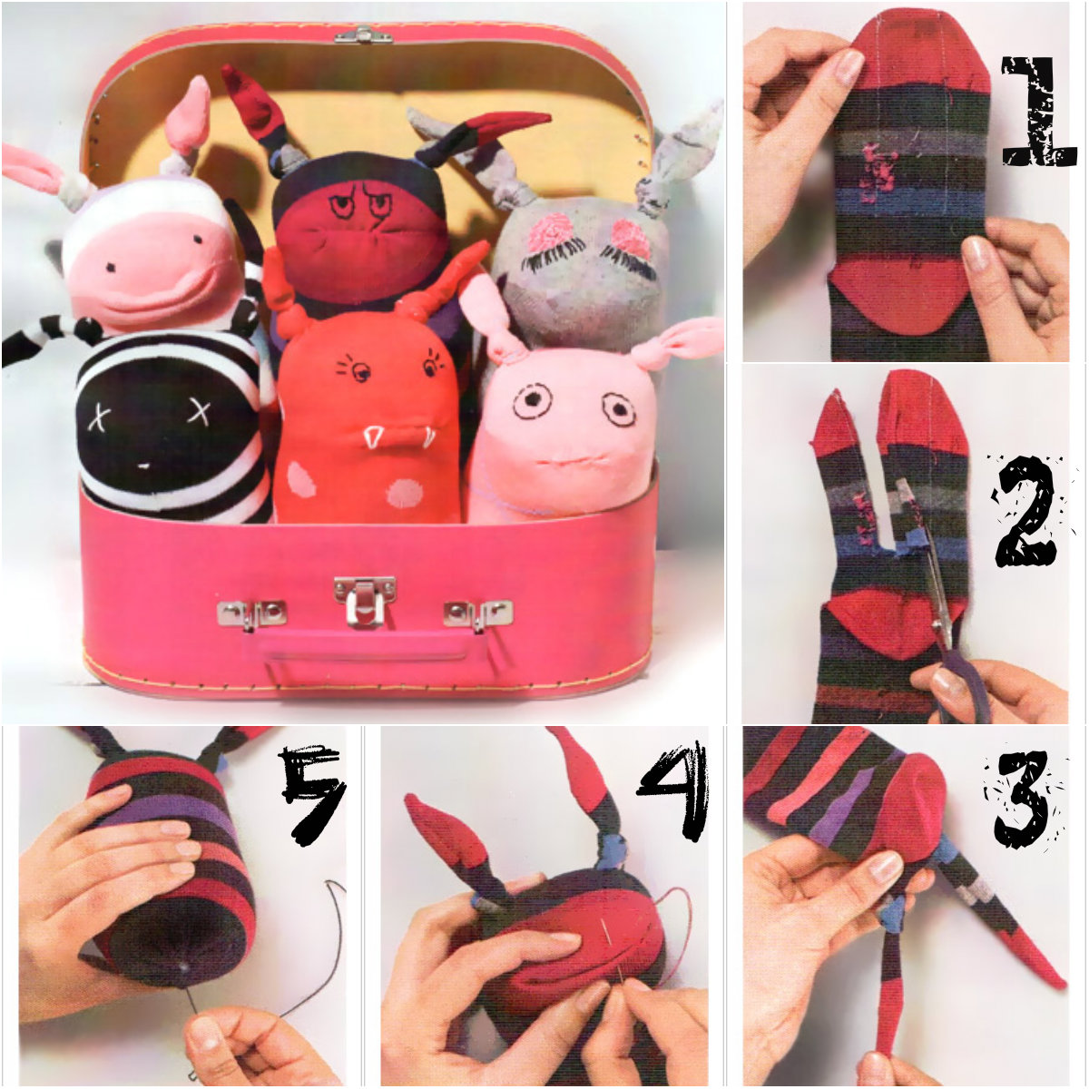 instrucciones juguetes: