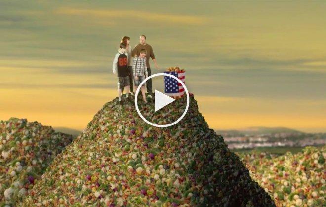 Desechos de comida EEUU
