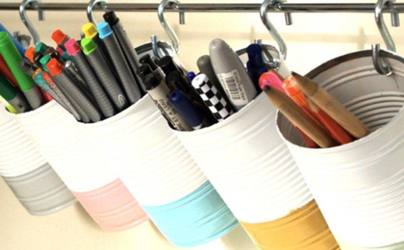 10 ideas para organizar tus espacios ¡conlatas!
